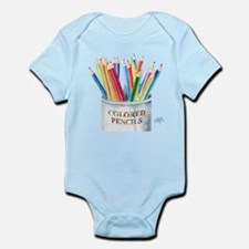 My Colored Pencils Infant Bodysuit