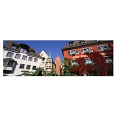 Germany, Meersburg, Lake Constance, Low angle view Poster