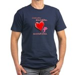 Wanted My Heart On My Sleeve Men's Fitted T-Shirt