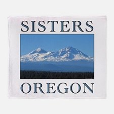 Funny Eugene oregon Throw Blanket
