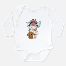 Angel Anna and Barkerly Long Sleeve Infant Bodysui