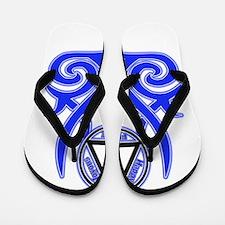 HJF Tribal Flip Flops