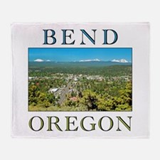 Cool Eugene oregon Throw Blanket