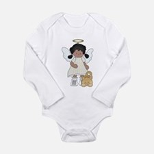 Angel Louise and Capt. Fluff Long Sleeve Infant Bo