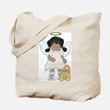 Angel Louise and Capt. Fluff Tote Bag