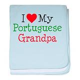 I love my grandpa (portuguese) onesie Baby