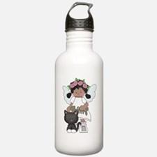 Angel Vanessa and Mr. Paws Water Bottle