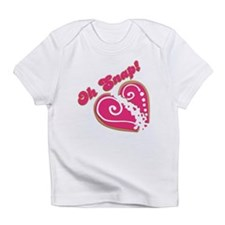 Oh Snap Heart Infant T-Shirt