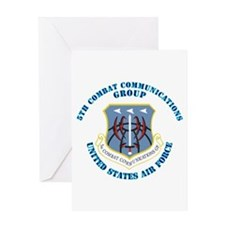 5th Combat Communications Group with Text Greeting