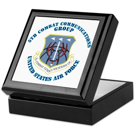 5th Combat Communications Group with Text Keepsake