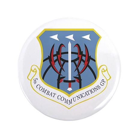 "5th Combat Communications Group 3.5"" Button (100 p"