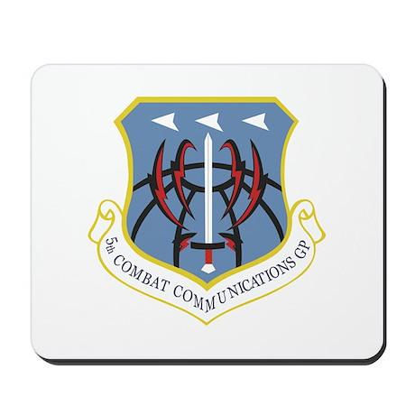 5th Combat Communications Group Mousepad