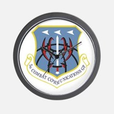 5th Combat Communications Group Wall Clock