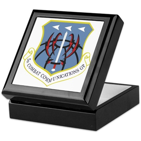 5th Combat Communications Group Keepsake Box