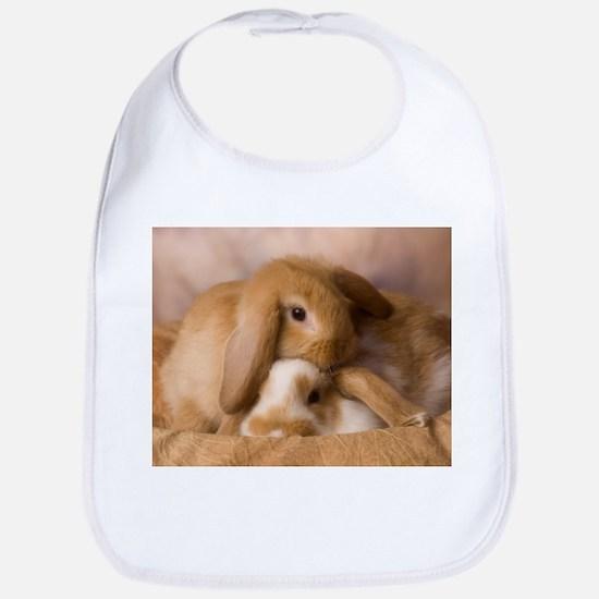 Cuddle Bunnies Bib