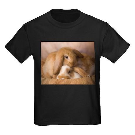 Cuddle Bunnies Kids Dark T-Shirt