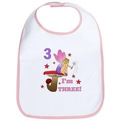 Third Birthday Fairy Bib