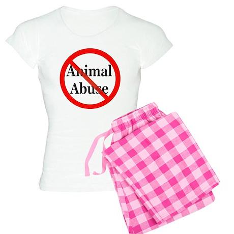 No Animal Abuse Women's Light Pajamas