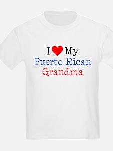 I Love Puerto Rican Grandma T-Shirt