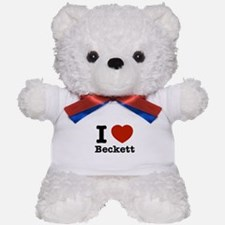 I love Beckett Teddy Bear