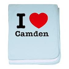 I love Camden baby blanket