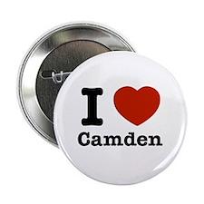 """I love Camden 2.25"""" Button"""