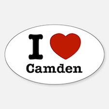 I love Camden Decal
