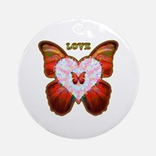 Wings of Love Ornament (Round)