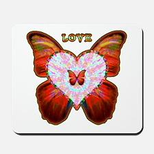 Wings of Love Mousepad