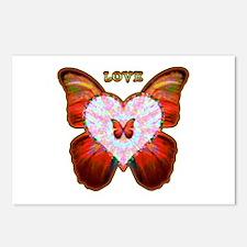 Wings of Love Postcards (Package of 8)
