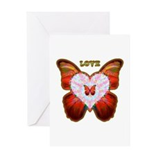 Wings of Love Greeting Card