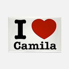 I love Camila Rectangle Magnet