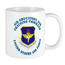 Air Education and Training Cmd with Text Mug