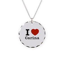 I love Carina Necklace