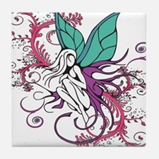 Shy Fairy Tile Coaster