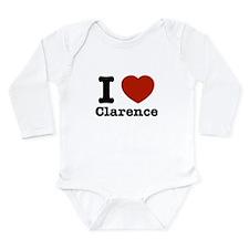 I love Clarence Long Sleeve Infant Bodysuit