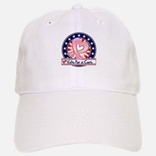 Vote Cure Breast Cancer Baseball Baseball Cap