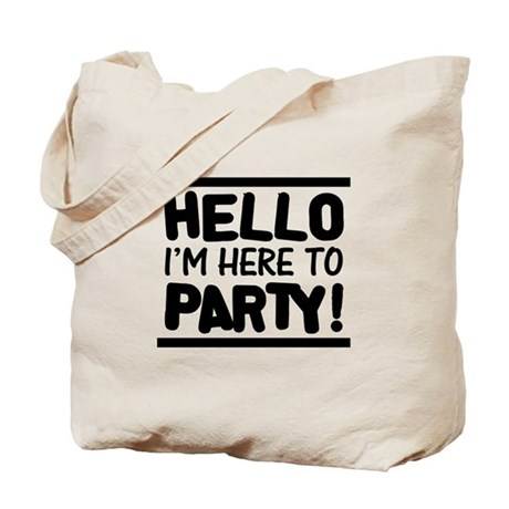 Here to PARTY! - Lights Tote Bag