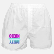 Clean / Dirty Boxers