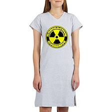 Radioactive Overdrive Logo Women's Nightshirt