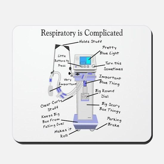 More Respiratory Therapy Mousepad