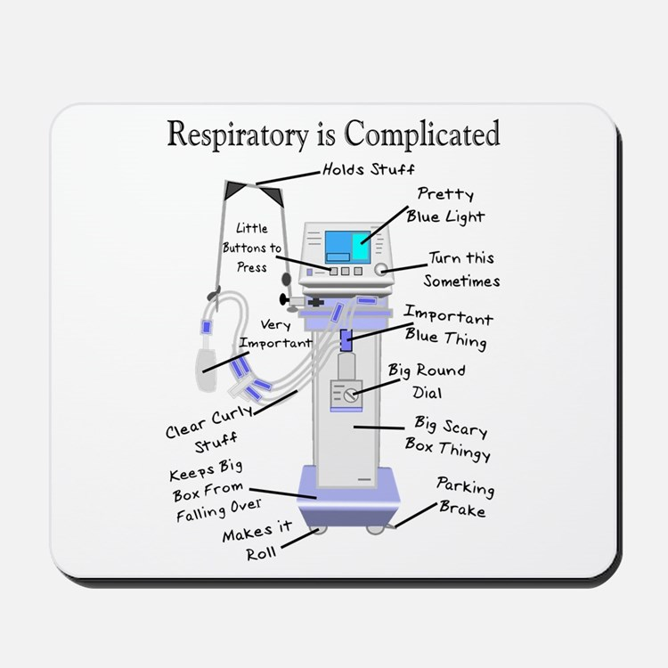 More Respiratory Therapy Mousepad