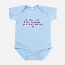 Just Think! I might be changi Infant Bodysuit