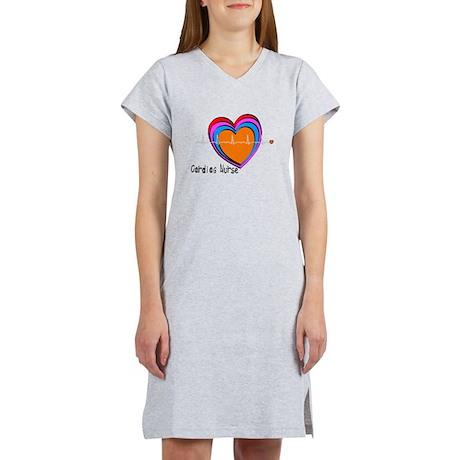 Cardiac Nurse Women's Nightshirt
