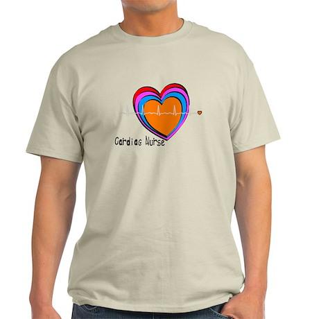 Cardiac Nurse Light T-Shirt