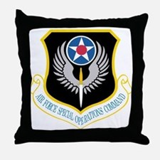 Air Force Special Operations Command Throw Pillow