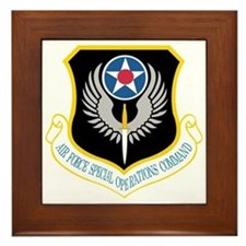 Air Force Special Operations Command Framed Tile