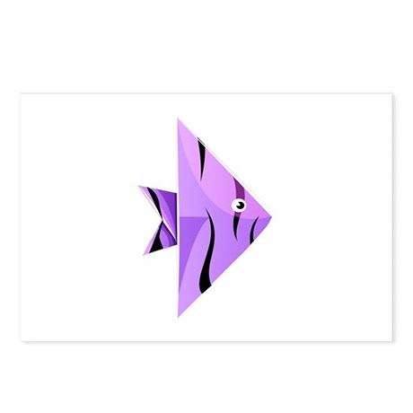 Origami Fish Postcards (Package of 8)