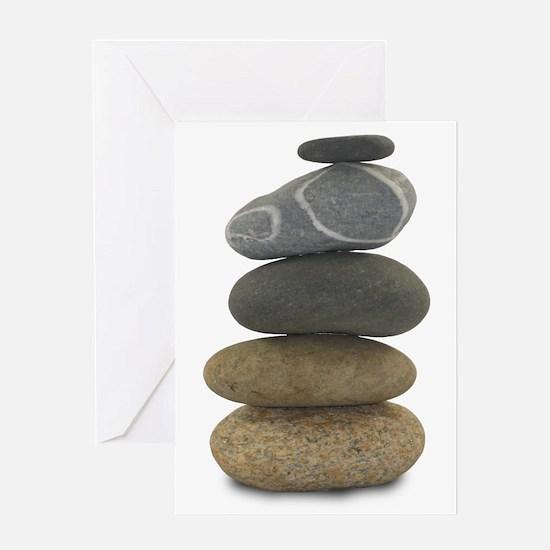 Stone Balance Greeting Card