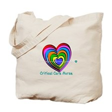 Critical Care Nurse Tote Bag